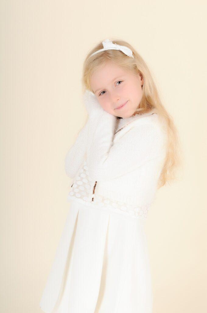 Jeune fille portrait doux