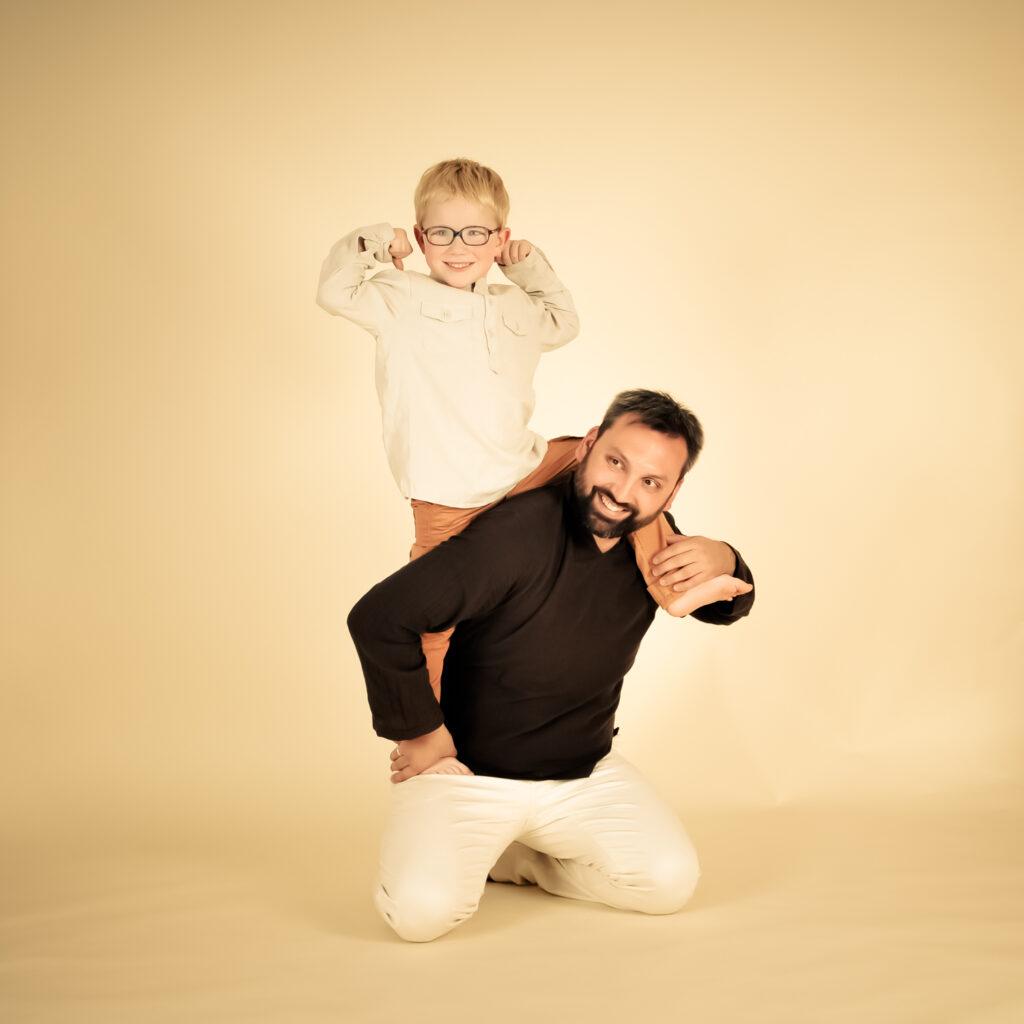 Québec portrait Père et Enfant
