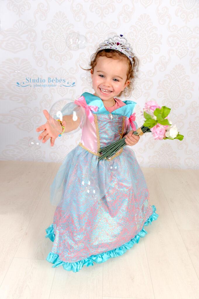 Shooting photo jeune princesse